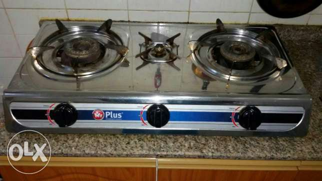One month used gas stove for sale مسقط -  1