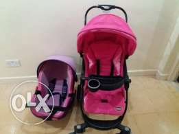 Junior stroller n car seat