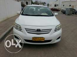 Toyota corolla 1.6L, 2010 model for sale
