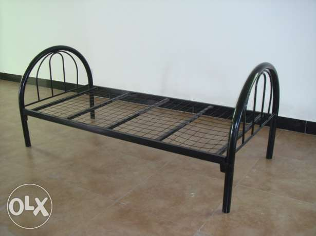 Steel Single Bed, for sale