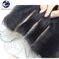 100% Virgin human hair weave and wig