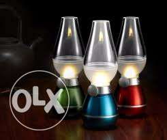 retro lamp- led- rechargeable