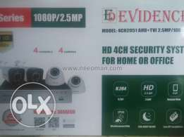 Evidence 4Channel HD 2.5 MP CCTV KIT