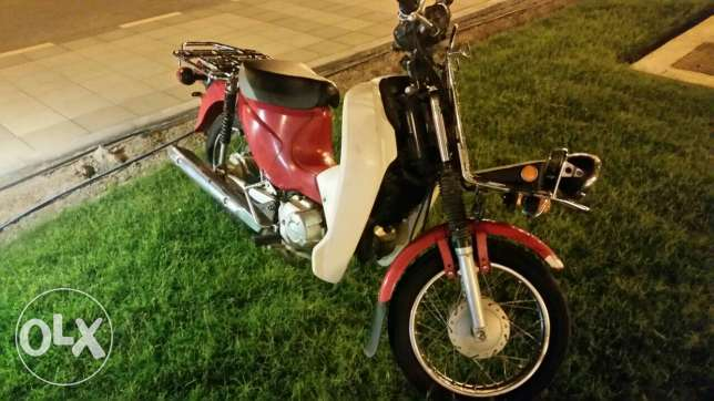 Motorcycle 100 cc