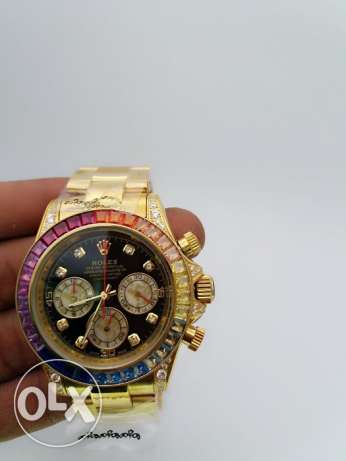 ROLEX masterpiece with real looking Diamonds at give away price