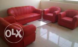 Brand new leather sofa's 7 seater