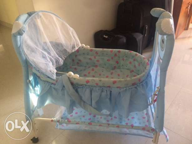 new baby cradle for sale,only one month used السيب -  4