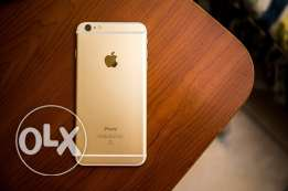 Iphone 6s Gold 182gb