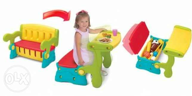 Fisher Price - Sit n Munch Storage Bench