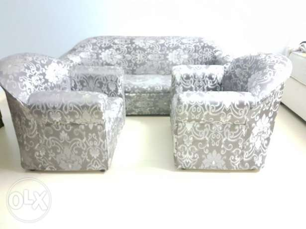 Sofa 3+1+1 for sale (small made)
