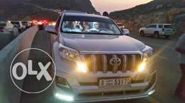 Toyota Prado 2014 GXR with Full Service History from Al Futtaim