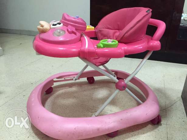 Well Maintained Musical Baby Walker