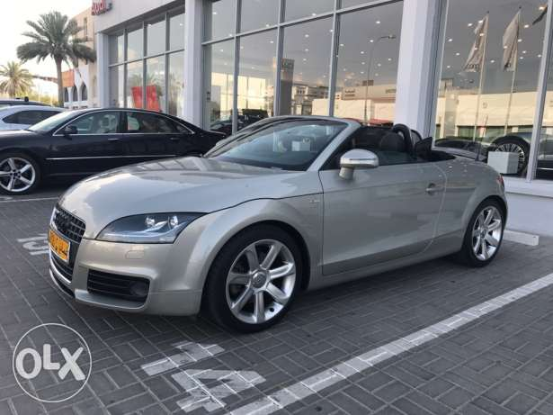Amazing Audi TT 2009 only 38000km from oman agency