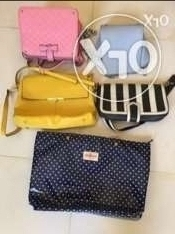 Lady's Bag, 5 pieces,without any broken,urgent sale because of leaving