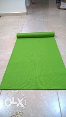 Yoga Mat For Exercise and Yoga to Keep FitNess - Buy 1 get 1 Free السيب -  1