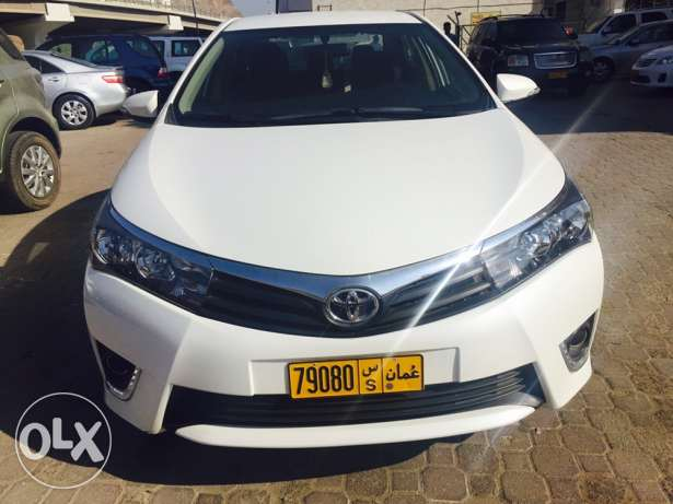 Toyota Corolla. 2015 model. 40000 km only. 5200 OMR. مسقط -  1