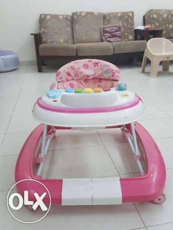 Baby Walker and Baby stroller for sale in Madinat Qaboos
