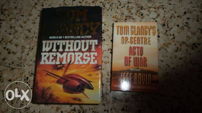 Tom Clancy Without remorse and Op-Centre Acts of war مسقط -  1