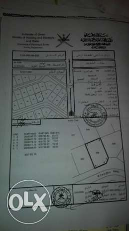 Land  for sale in Al Khoudh 6
