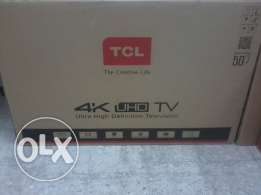TCL 50 inch 4 k uhd led tv imed sale 2 pcs avlbl