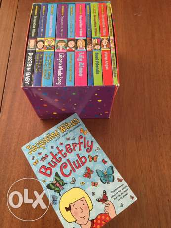 Jacqueline Wilson box set plus extra book