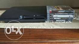 Ps3 with 5 games مع ٥ العاب