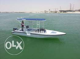 Diving boat for sell