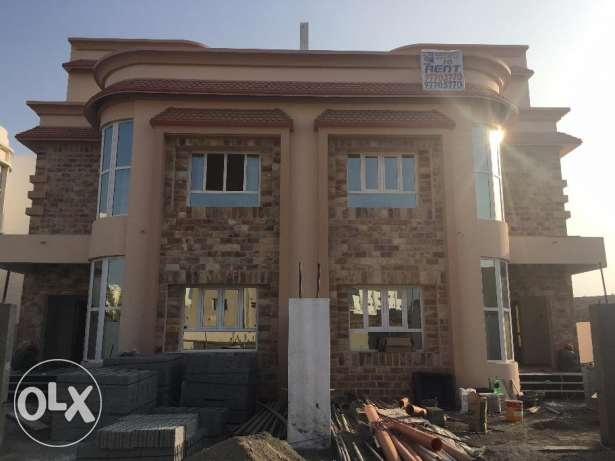 a1 brand new villa for rent in al ansab .