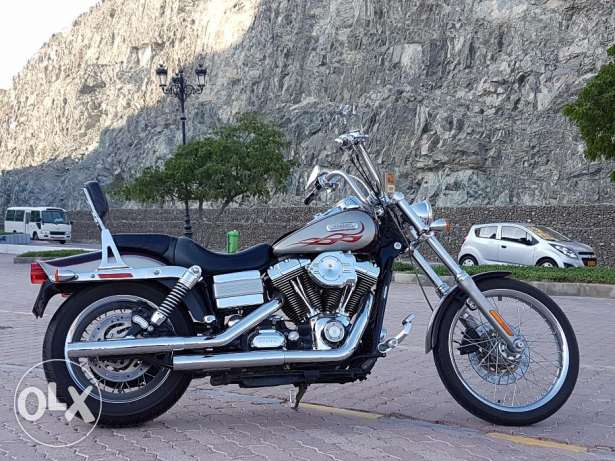 Harley Davidson Wide Glide...very clean and low mileage مسقط -  1