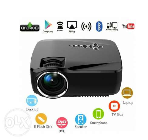 Android WiFi Bluetooth LED Projector