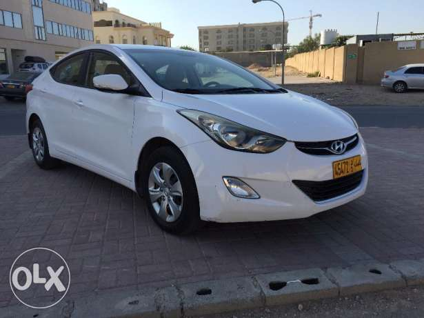 2013 Hyundai Elantra 1.6 for Sale مسقط -  1