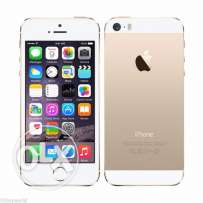 Apple iPhone 5s Gold (16 GB) with valid warranty