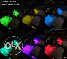 Car Interior Light Strip Light with Sound Activated Waterproof