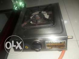Single portable gas burner
