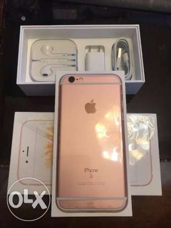 IPhone 6s 16gb grey color with all accessories.