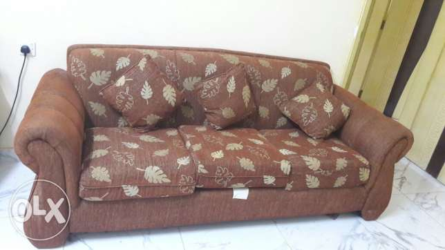 Fully conditioned sofa