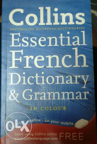 French dictionary& grammar