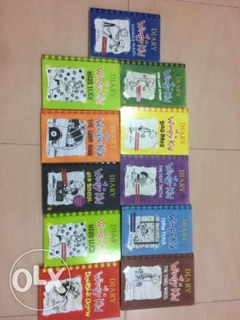 Diary of A Wimpy Kid 11 books whole series