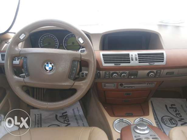 BMW 730 LI 2008 - For Sale - In Very Good Condition NO 1 مسقط -  4