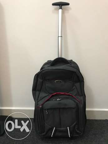 New Backpack With Wheels and place for laptop storage at great price