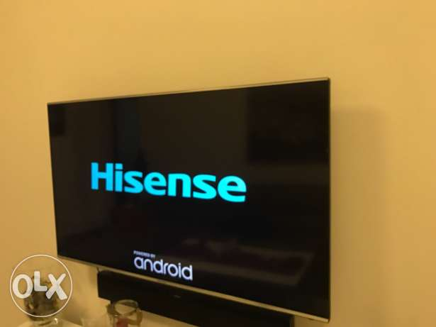 Hisense full HD smart TV 55 inches مسقط -  1