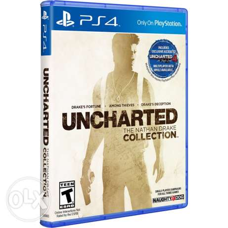 Uncharted Nathan Drakes Collection