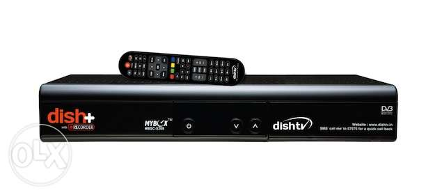 Dish TV Receiver with Sports & South India package