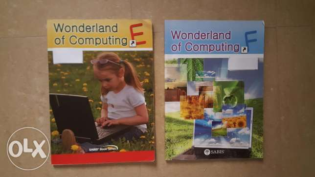 Grade 3 and 4 computing books of chouifat school
