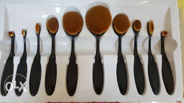 10 pieces make up brush set مسقط -  2