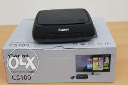 Canon Connect Station CS100 1TB Storage Device and Remote Control