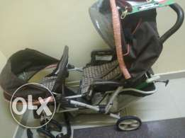 Twince stroller