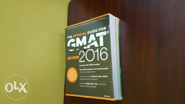 GMAT 3 Books New in plastic wrap