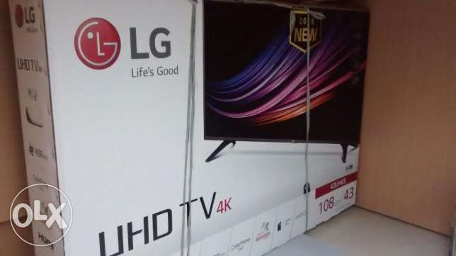 Moving out Sale - Brand New Model LG 43UH65