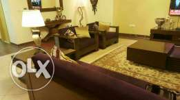 Imported Sofa Set 3,1,1, coffee table with 2 side tables, Tv console